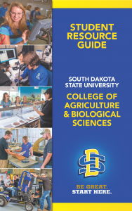 Student Resource Guide | South Dakota State University | College of Agriculture & Biological Sciences