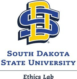 "SDSU logo with ""Ethics Lab"" text below it"