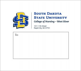SDState Mailing Label example