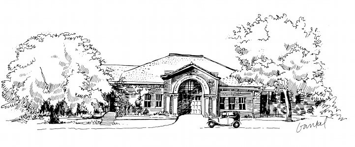Drawing of Agricultural Heritage Museum