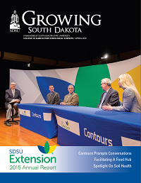 Cover of Spring 2016 Growing South Dakota