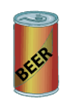A 12 fluid ounce can of beer has roughly 5% alcohol.