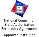 NC SARA Approved Institution logo