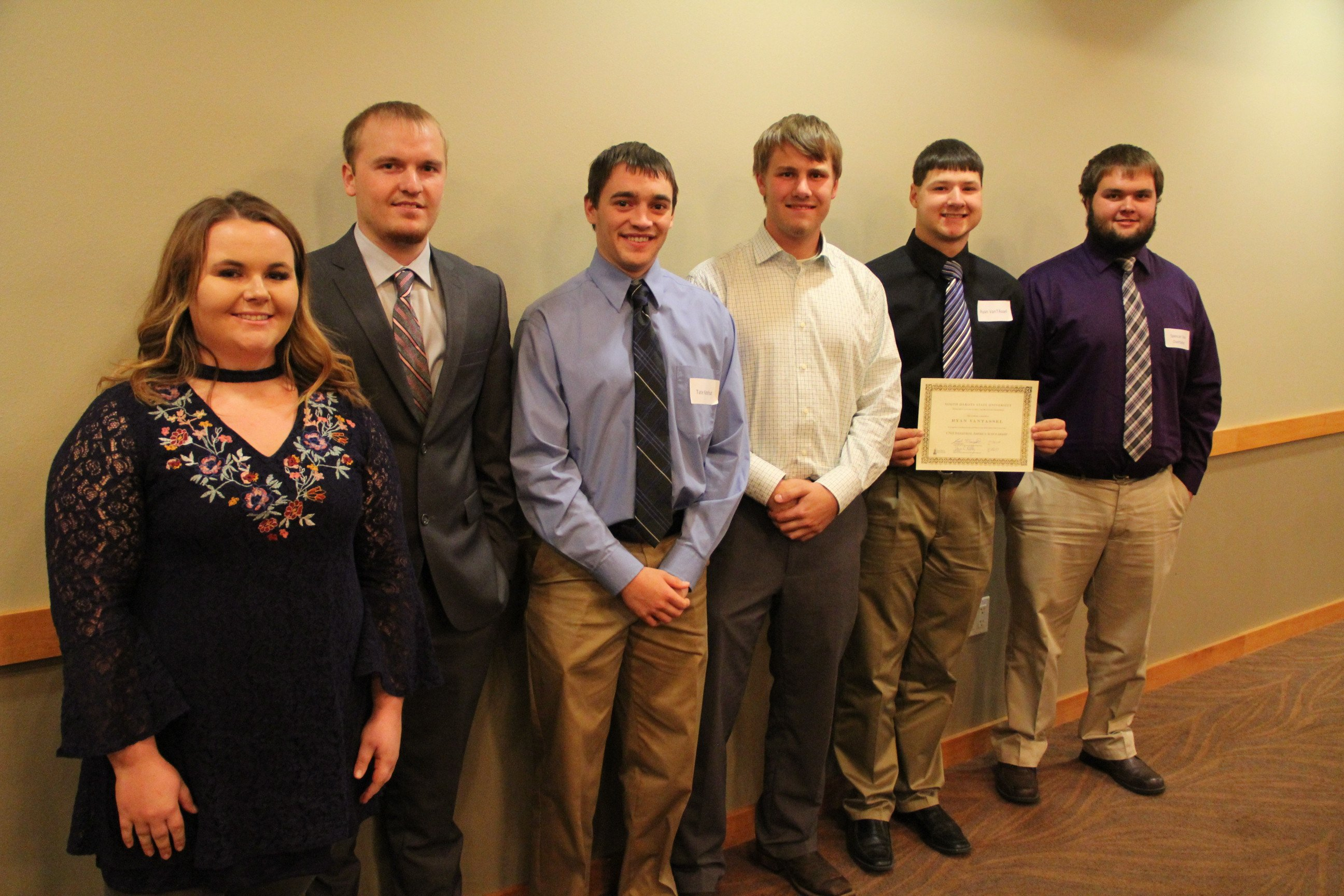 Quarter Scale Tractor Team Recognized at Banquet of Excellence