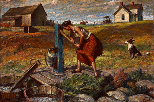 Harvey Dunn: Women at Work