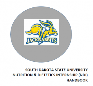 SDSU Jackrabbit logo on NDI handbook cover