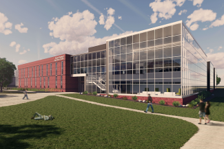 rendering of new Raven Precision Agriculture Center