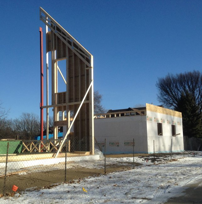 Passive House construction as of Dec. 10, 2017