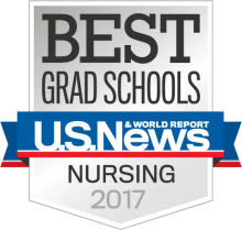 Best Grad Schools US New and World Reports Nursing 2017 Badge
