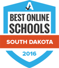 Best Online Schools South Dakota 2016 Badge