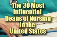 The 30 Most Influential Deans of Nursing in the United States Badge