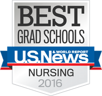 Best Grad School US News and World Reports Nursing 2016 Badge