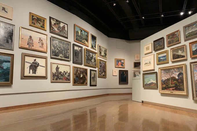 All Dunn exhibit at South Dakota Art Museum