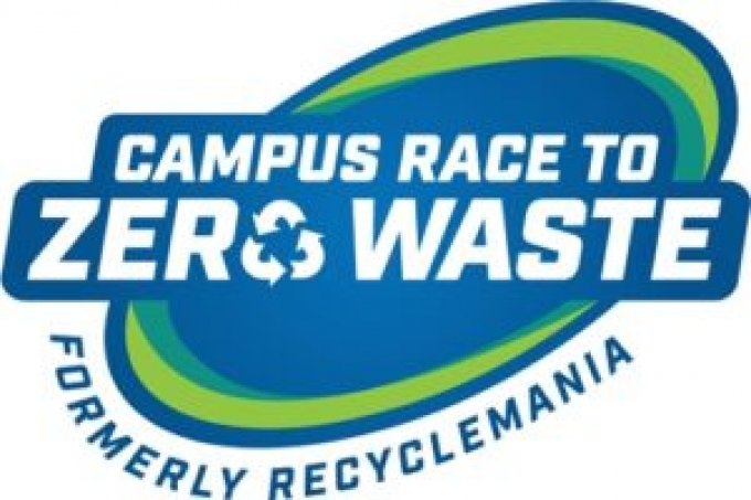 Campus Race to Zero Waste Formerly RecycleMania logo