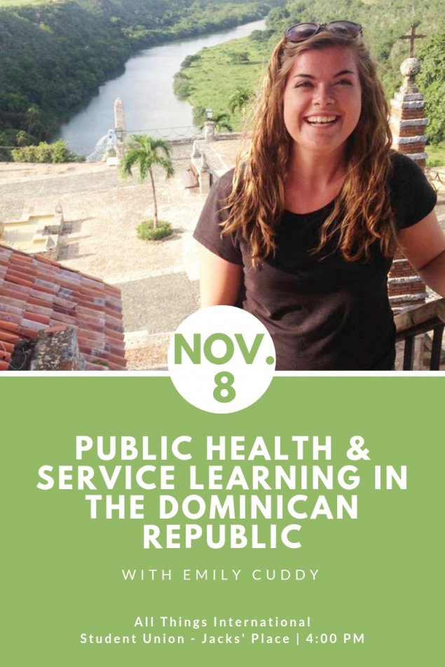 Public Health and Service Learning in the Dominican Republic