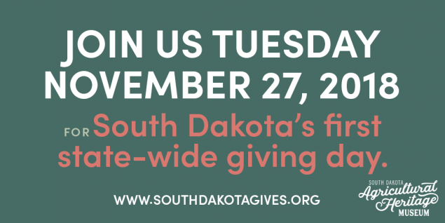 South Dakota Day of Giving Agricultural Heritage Museum