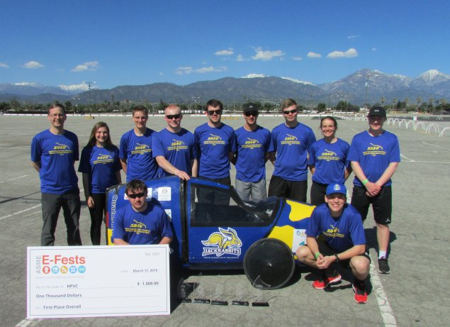 SDSU ASME Human Powered Vehicle Team 2019