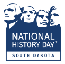 National History Day in South Dakota Logo with Mt. Rushmore