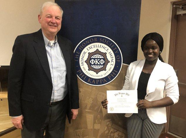 2020 John Miller Scholarship recipient Vivian Osei Poku