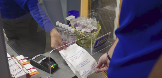Jackrabbit Pharmacy is located in the Miller Wellness Center.