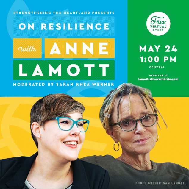 Promotional Image of Anne Lamott and Sarah Rhea Werner