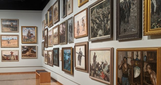 ALL DUNN: The Complete Harvey Dunn Collection gallery at SD Art Museum