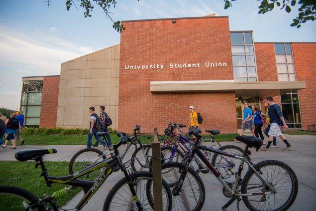 University Student Union Exterior