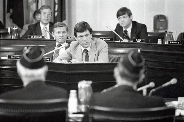 Senator Tom Daschle at Work