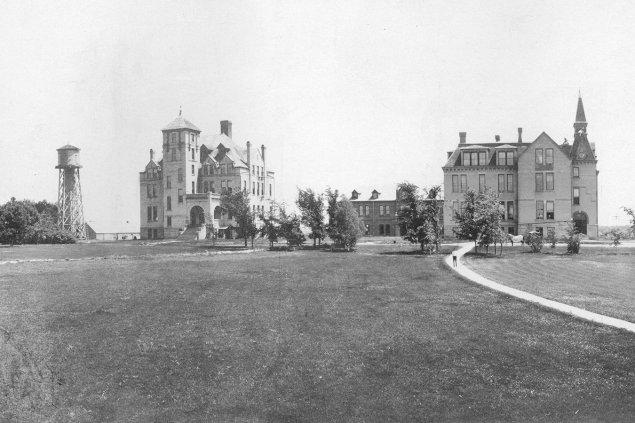 South Dakota State College archival photo