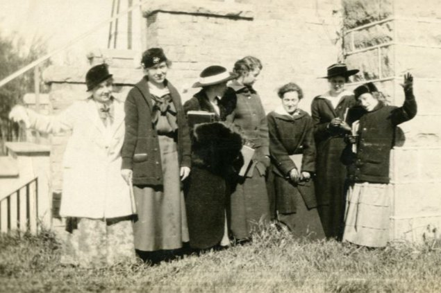 SDSU Class of 1916 Female Students