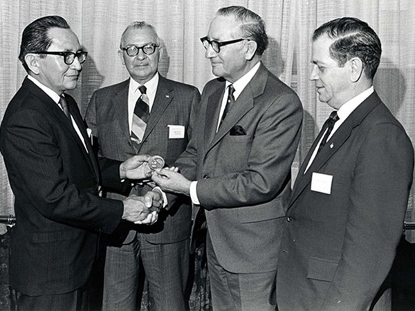 Indian Council Fire Achievement Award Ceremony in 1971.