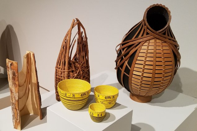 "Baskets in ""Rooted, Revived, Reinvented: Basketry in America"""