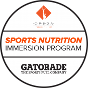 Gatorade Sports Nutrition Immersion Program logo