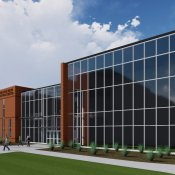 A rendering of the future Raven Precision Agriculture Center