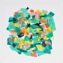 Diana Behl, colorful abstract print