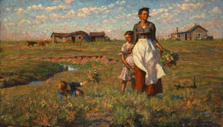 Harvey Dunn, The Prairie is My Garden