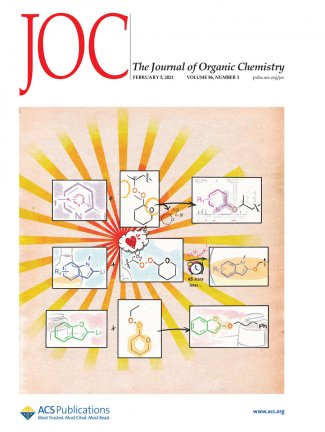 Cover of the Feb. 5 Journal of Organic Chemistry