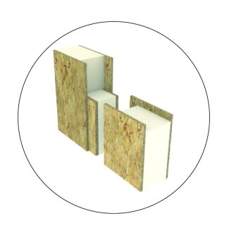 Icon showing the thick insulation of the Passive House Walls.