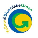 Yellow & Blue Make Green