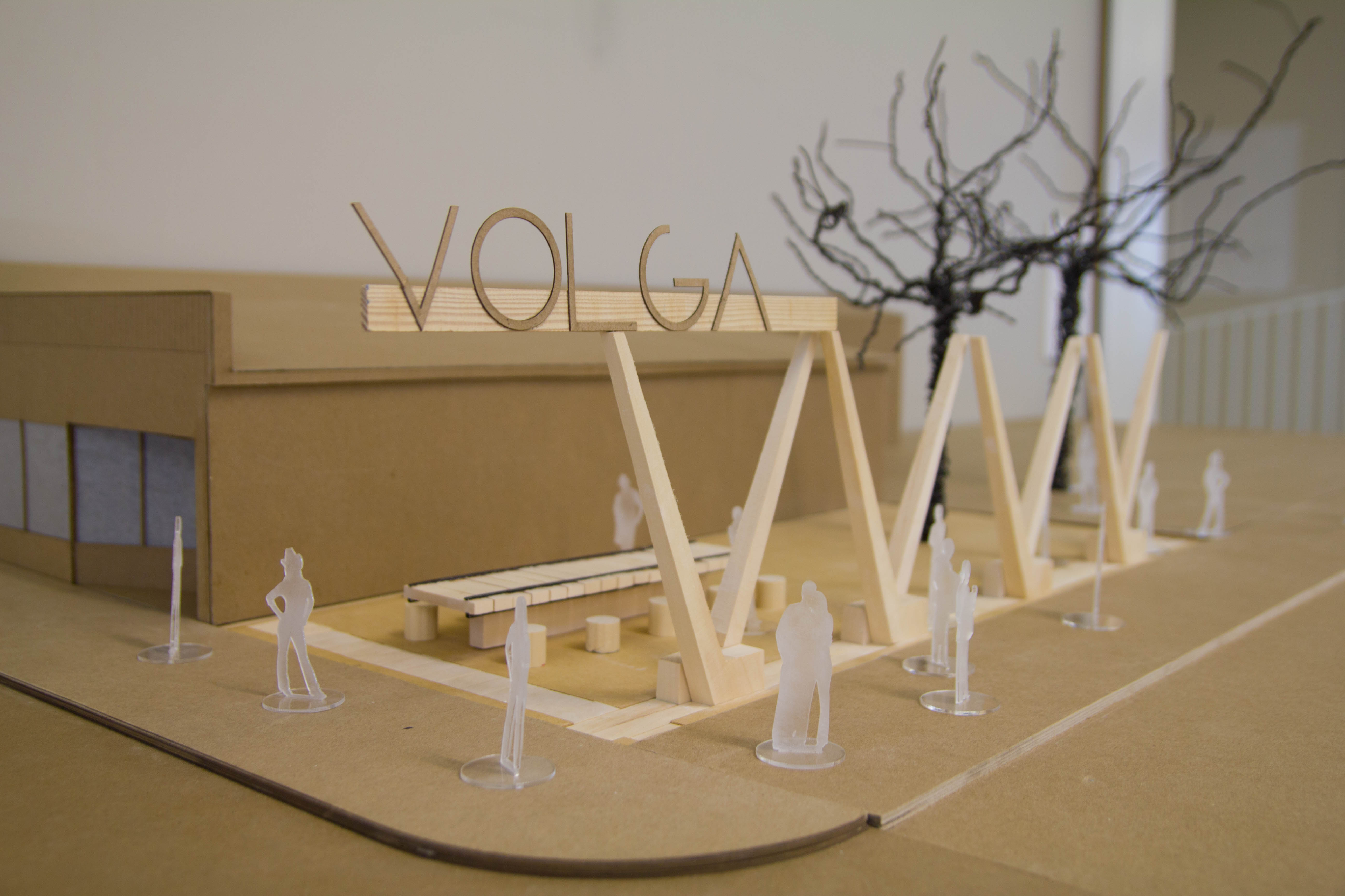 volga architecture structure model